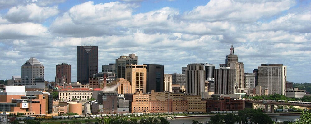 Downtown Saint Paul, Minnesota
