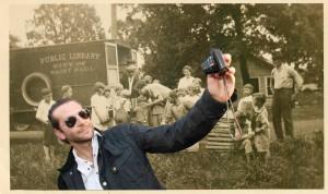 Bradley Cooper stpbookmobile selfie