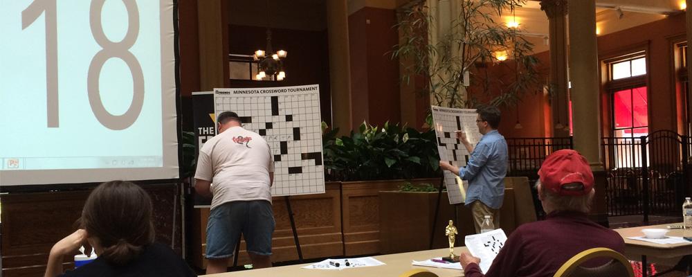 4th Annual Minnesota Crossword Tournament