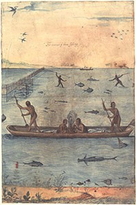 1 John White, The Manner of their Fishing_From Chapter 2