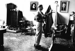 1 - Lack in his studio, c. 1959