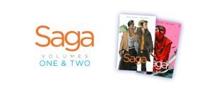 "Books & Bars: ""Saga, Volumes 1 & 2"" @ Amsterdam Bar & Hall 